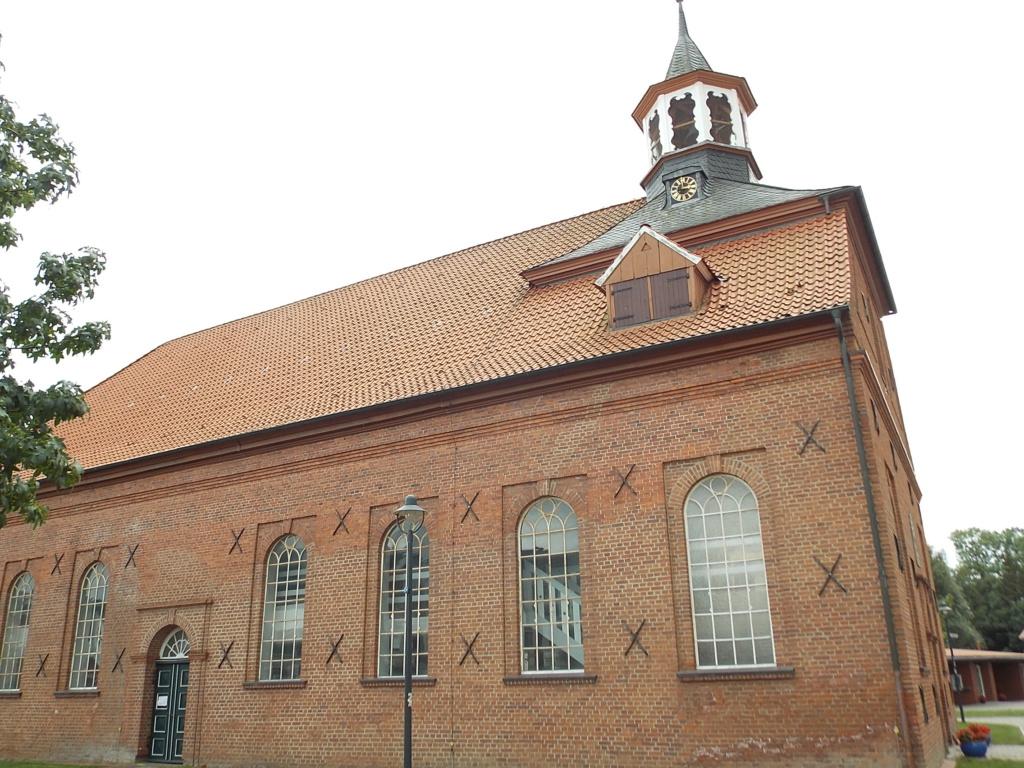 Jakobsweg via Jutlandica Camino de Santiago St. Johannis- u. Catharinen-Kirche Drochtersen