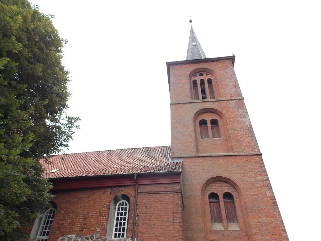 Jakobsweg via Jutlandica Camino de Santiago St. Martin Kirche Assel