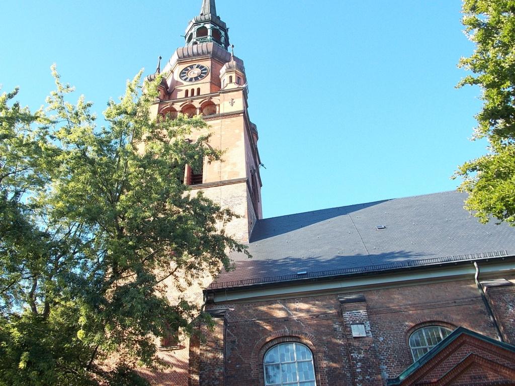 Jakobsweg via Jutlandica Camino de Santiago St.-Laurentii-Kirche Itzehoe