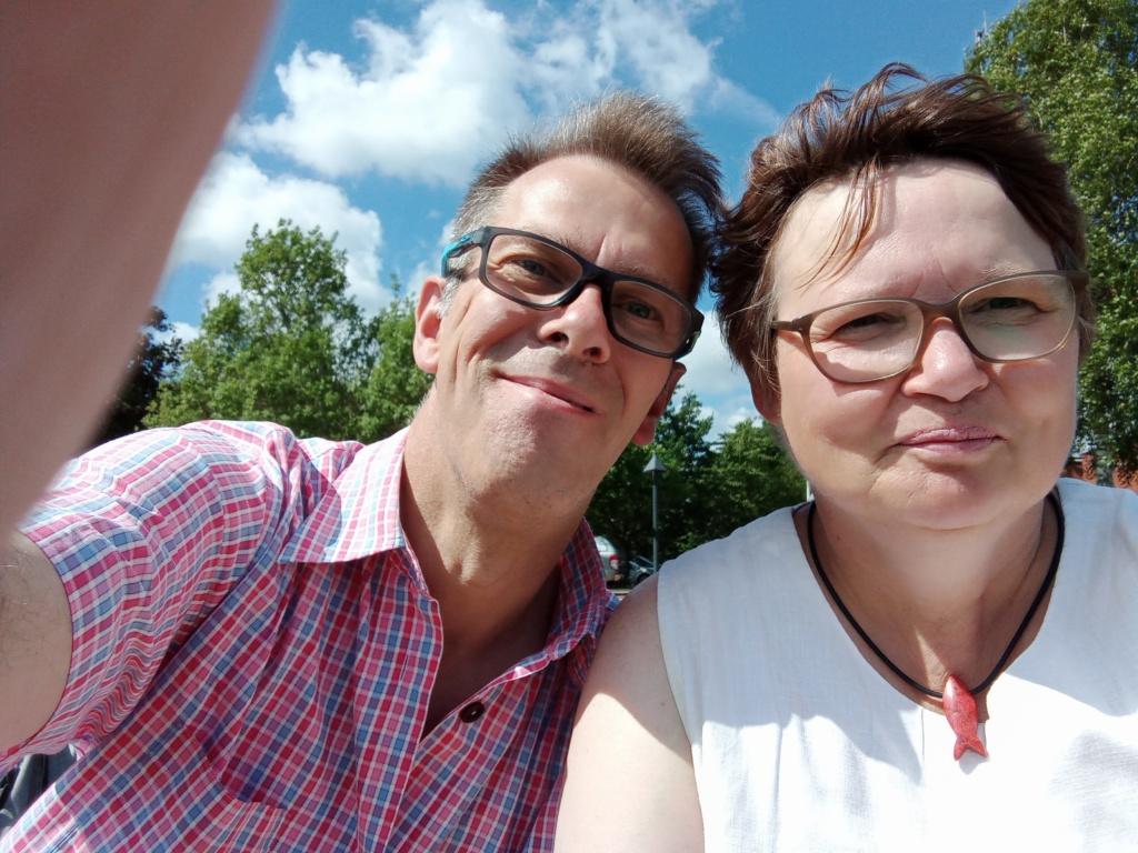 Susanne und Michael Nord-Ostsee-Kanal Rendsburg Breiholz Rüsterbergen