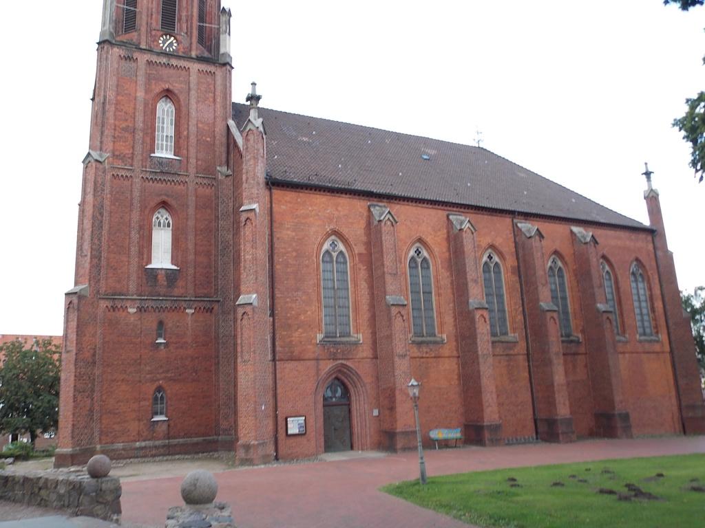 Jakobsweg via Jutlandica Camino de Santiago St. Marien und Bartholomäi Kirche Harsefeld
