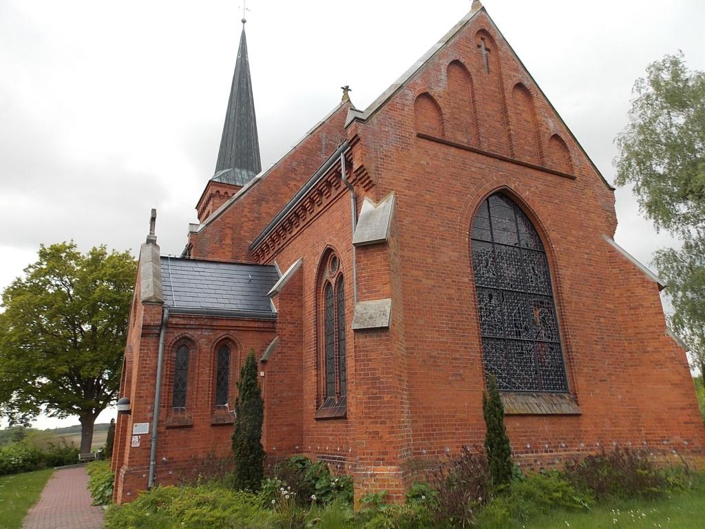 Jakobsweg via Jutlandica Camino de Santiago Kirche Klein Wesenberg