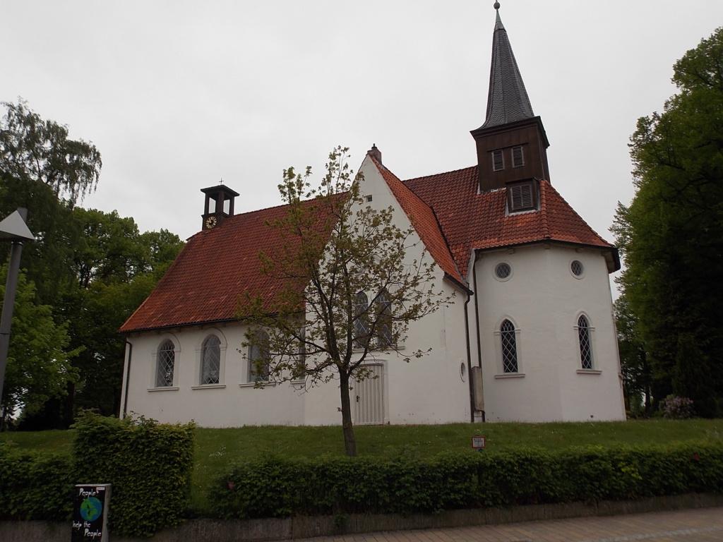 Jakobsweg via Jutlandica Camino de Santiago Matthias-Claudius-Kirche Reinfeld