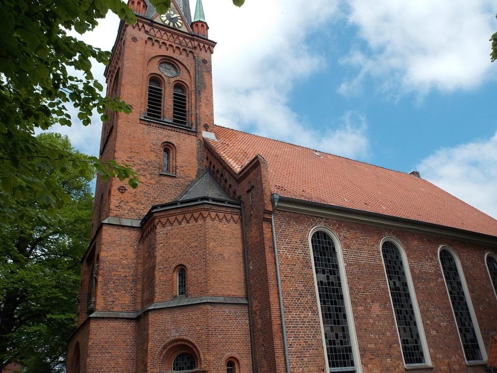 Jakobsweg via Jutlandica Camino de Santiago Bad Oldesloe Peter-Paul Kirche