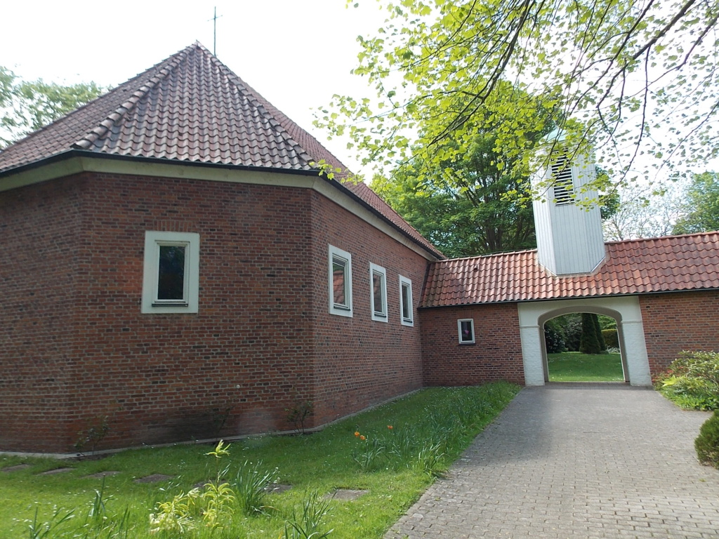 Jakobsweg via Jutlandica Camino de Santiago Travenbrück Martin-Luther-Kirche