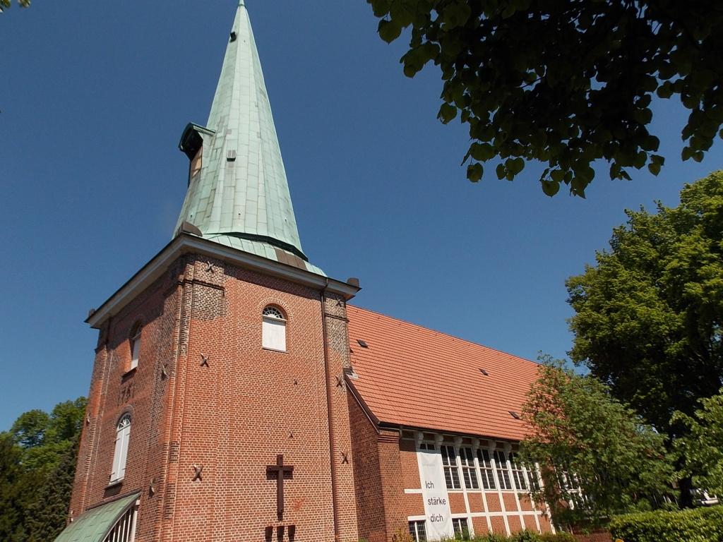 Jakobsweg via Jutlandica Camino de Santiago St. Johannis Kirche Hamburg Eppendorf