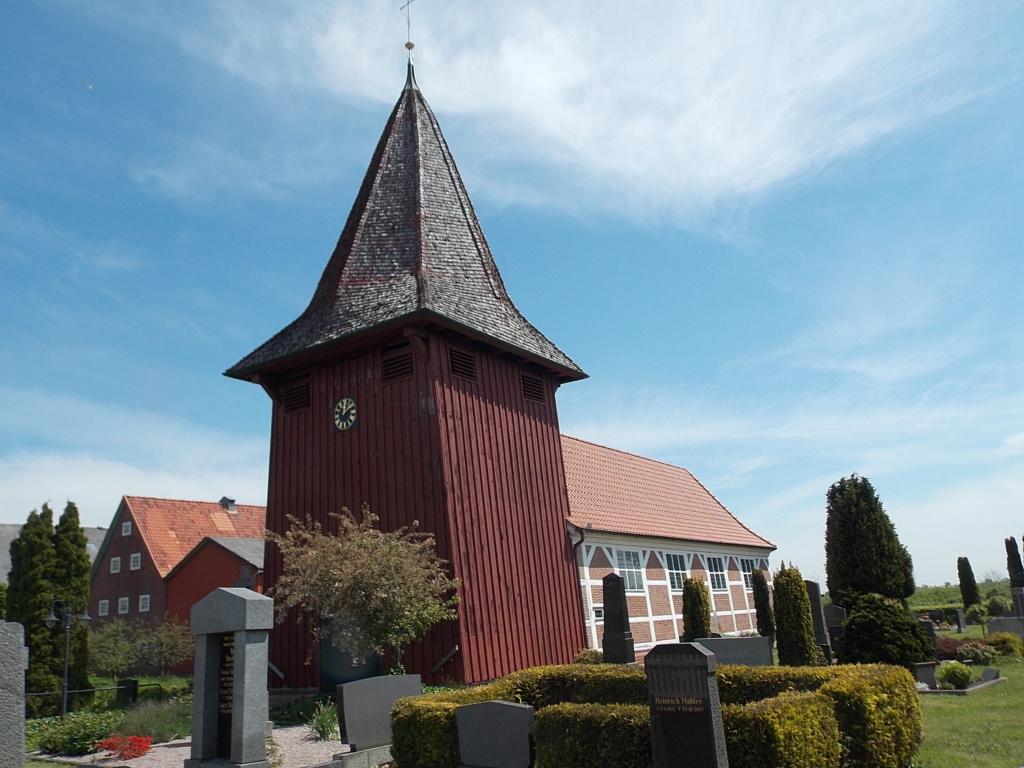 Jakobsweg via Jutlandica Camino de Santiago St. Johannis-Kirche Neuenkirchen