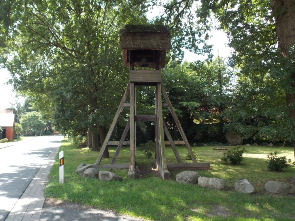 Jakobsweg Baltica Glockenturm