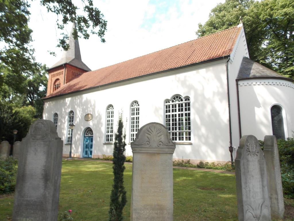 Liebfrauenkirche Fischerhude Jakobsweg Baltica