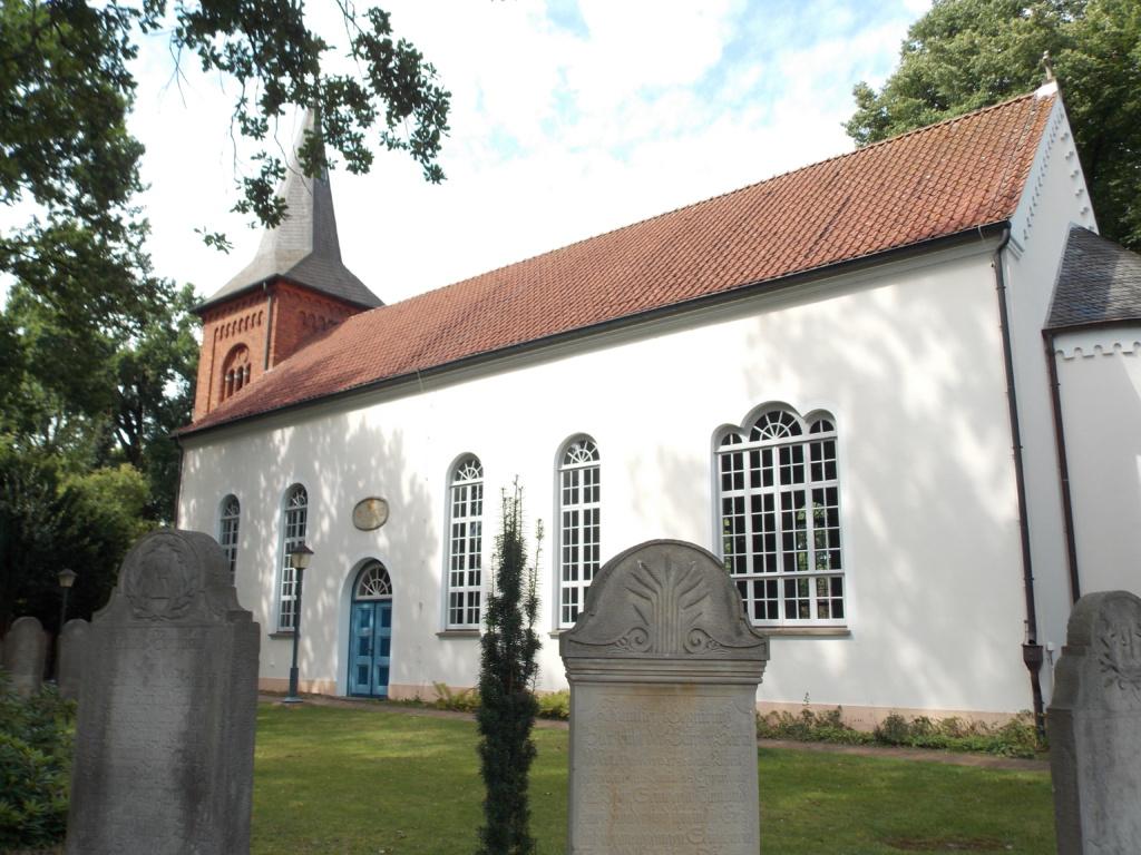 Liebfrauenkirche Fischerhude Camino de Santiago