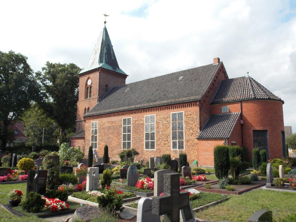 Jakobsweg Baltica Bremen Borgfelde Kirche