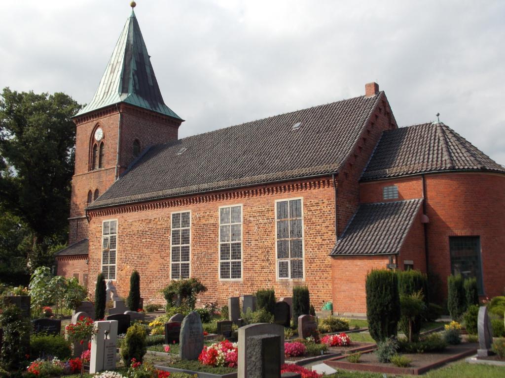 Pilgerweg Bremen Borgfelder Kirche
