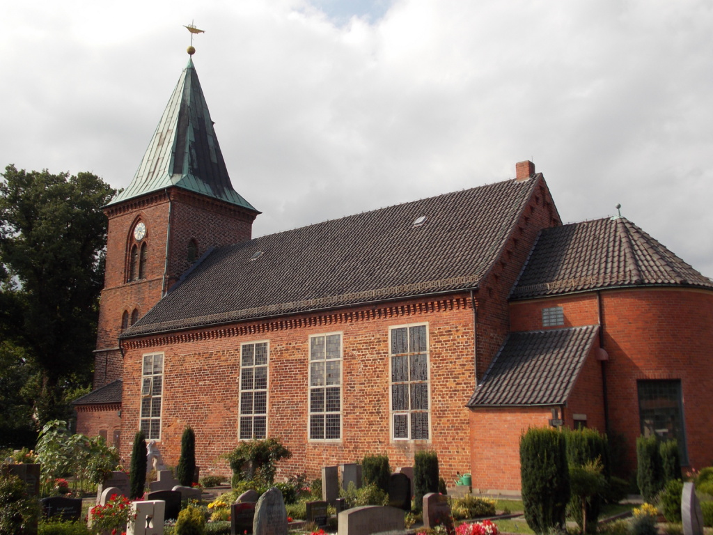 Camino Santiago Bremen Borgfelder Kirche