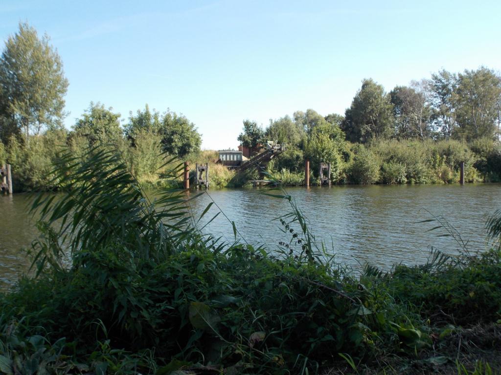 Elbe-Lübeck-Kanal Güster Kiesverladung