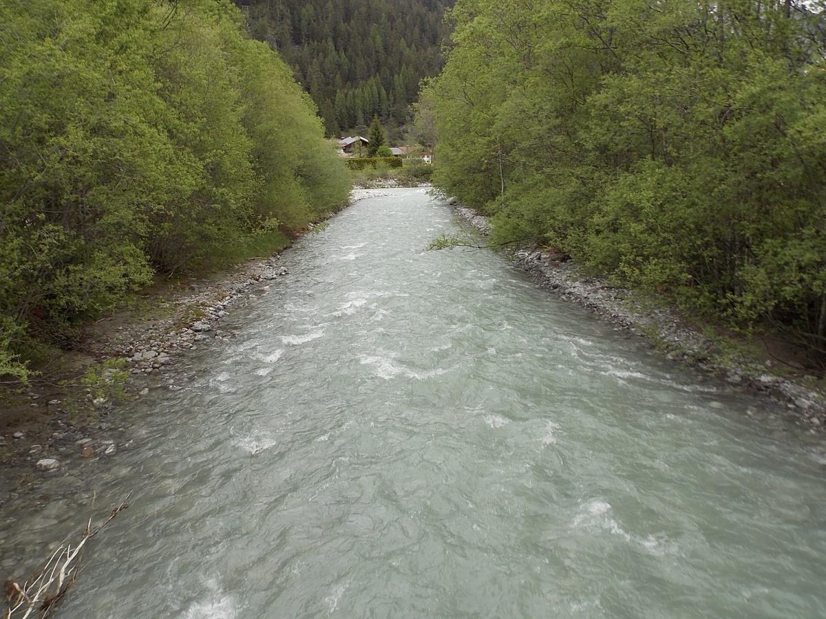 Lech Radweg Bach Alperschonbach